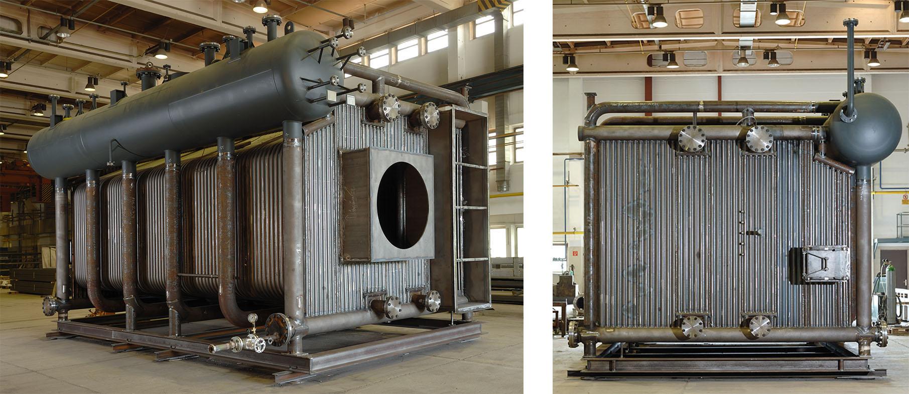 water tube boiler - ERK